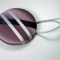 Ponytail Holder - Prom Queen - Giant Button